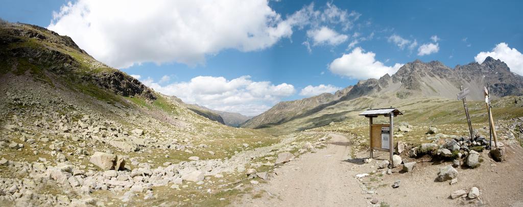 Vista panoramica passo Verva - Giorno 1