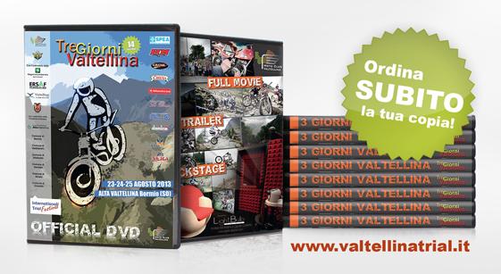 DVD - Tre Giorni Valtellina 2013 - richiedi subito la tua copia!