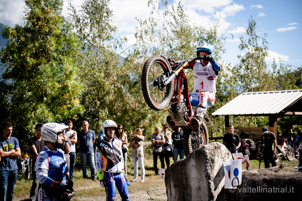 Matteo Grattarola Campione Italiano Trial 2014