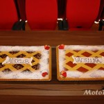 Le buonissime torte offerte dal Motoclub Valtellina